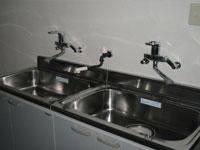 ナースセンター手洗い・器具除菌
